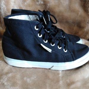 Superga High Top Sneakers Shoes 6.5